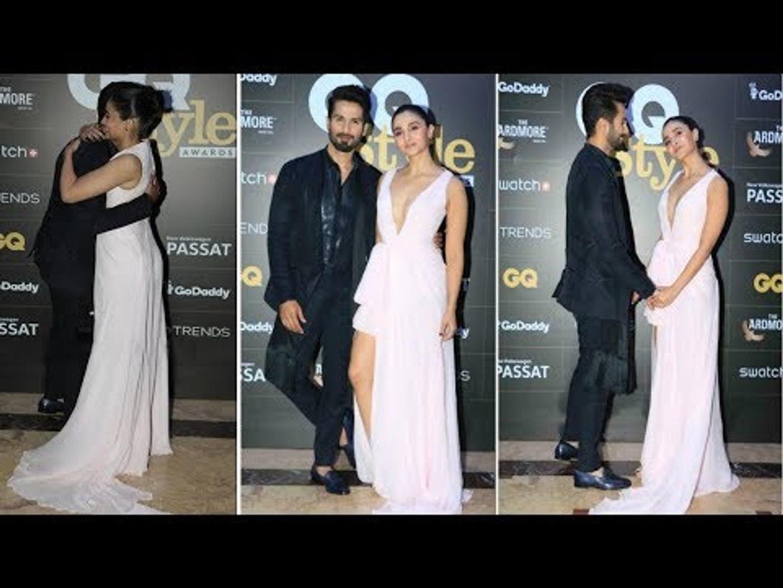 Shahid Kapoor And Alia Bhatt Look STUNNING At GQ India Style Awards 2018