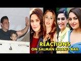 Bollywood Celebs Reactions On Salman Khan's BAIL From Jodhpur Jail | Salman Khan BlackBuck Case