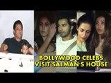 Bollywood Celebs VISIT Salman Khan's GALAXY Apartment To Meet Salman Khan After Coming From Jail