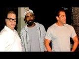 Salman Khan With Remo D'Souza & Ramesh Turani At Shankar Mahadevan's Studio In Bandra | Race 3