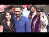 Aamir Khan Meets Daughter Ira Khan & Ex Wife Reena Dutta At Mehboob Studio In Bandra