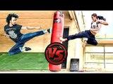 Tiger Shroff Vs Disha Patani's LIVE STUNTS | Tiger Shroff Stunts | Disha Patani Stunts