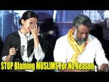 Tapsee Pannu BREAKS DOWN | ANGRY REACTION On Blaming MUSLIMS For No Reason | Mulk Trailer Launch