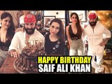 INSIDE: Saif Ali Khan SUPRISE BIRTHDAY PARTY With Family | Kareena, Karisma, Soha Ali, Kunal Khemu