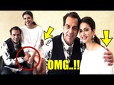 OMG! Dharmendra GETS COZY With Kriti Kharbanda   Yamla Pagla Deewana Phir Se Promotions