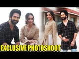 EXCLUSIVE: Shraddha Kapoor & Shahid Kapoor HAPPILY POSING | Batti Gul Mater Chalu Movie Promotions