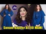EXCLUSIVE: Sonam Kapoor LOOKS GORGEOUS At Jio MAMI Film Festival   Latest Bollywood Updates