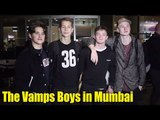 The Vamps Boys SPOTTED in Mumbai | UK's Pop Rock Band