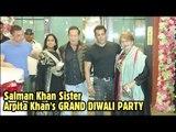 Salman Khan Sister Arpita Khan's GRAND DIWALI PARTY 2018 | Shilpa Shetty, Sonakshi Sinha, Jacqueline