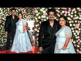 Bharti Singh with Hubby Haarsh Limbachiyaa At Kapil Sharma and Ginni Wedding Reception