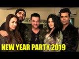 Arjun Kapoor With GF Malaika Arora Celebrates NEW YEAR 2019 PARTY | Sanja Kapoor New Year 2019 Party