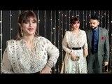 Ayesha Takia LOOKS UGLY due to wrong Lips Plastic Surgery at Priyanka Nick Wedding Reception
