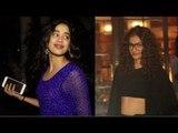 Kapoor sisters Sonam & Janvhi's night out