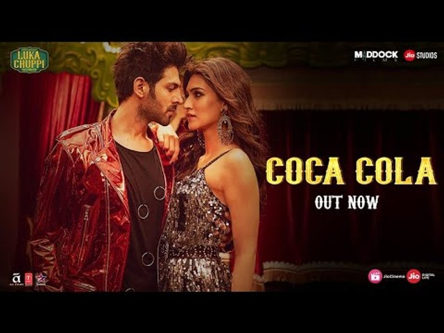 Luka Chuppi Coca Cola Song : Kartik Aaryan and Kriti Sanon |Tanishk Bagchi Neha Kakkar
