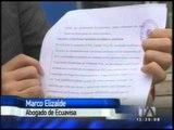 Ecuavisa denuncia inclumplimiento de contrato por parte de la FEF