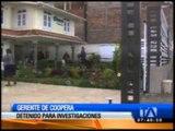 Gerente de Coopera fue detenido por presunto lavado de activos