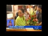 Esta mañana Viviana Bonilla dejó la gobernación del Guayas