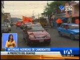 Candidatos a prefectos del Guayas intensifican campaña
