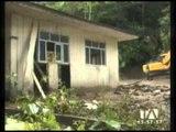 6 casas destruidas por las lluvias