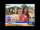 Gestión de Riesgos advierte que 25 casas podrían colapsar en Guayaquil por las fuertes lluvias