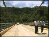 Puente sobre río Upano conecta varias comunidades