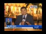 El papa Francisco llega a su última parada en su gira por Latinoamérica