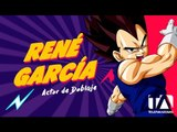 René García - Actor de doblaje - Voz de Krilin - Súper Fan Fest Quito 2016 - Teleamazonas