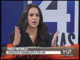 Entrevista a Paola Vintimilla, Fabricio Betancourt y Enrique Ayala Mora