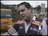 Muere una persona por deslave en San Miguel de Bolívar - Teleamazonas