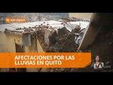 31 emergencias por lluvias se registraron entre viernes y domingo en Quito