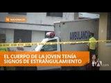Una joven estudiante universitaria fue asesinada en Riobamba