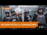 La Policía ingresó a las instalaciones de La Contraloría General del Estado - Teleamazonas