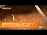 Zaruma dice que su situación por minería es crítica - Teleamazonas
