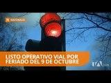 Operativo de control y seguridad vial durante este feriado a nivel nacional - Teleamazonas