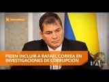 Asambleístas hacen pedido sobre expresidente Correa a la Fiscalía - Teleamazonas