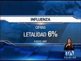 43 muertos por influenza en sus diferentes cepas en el país