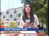 Una hora y media duró la versión de Correa desde Bélgica - Teleamazonas