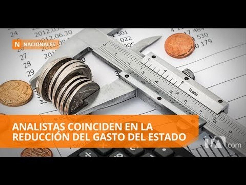 El Estado gasta especialmente en el pago de salarios y publicidad - Teleamazonas
