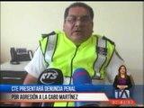 CTE presentará denuncia penal por agresión a agente de tránsito