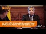 El Ecuador ya no será sede de los diálogos de paz  entre Colombia y el ELN - Teleamazonas