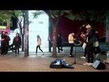 홍대 거리공연  변지웅 - 너무 아픈 사랑은 사랑이 아니었음을(김광석) 버스킹 at 걷고싶은거리
