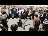 Street Locking Dance Battle with 내담 Crew at Hongdae