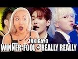 WINNER FOOL + REALLY REALLY INKIGAYO REACTION