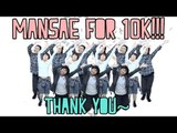 【KY】//TB// SEVENTEEN(세븐틴) — MANSAE(만세) DANCE COVER + COVER BLOOPERS(HAPPY 10K SUBS~!!)