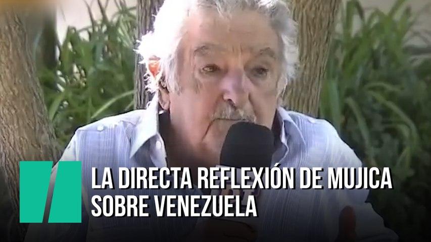 La directa reflexión de Mujica sobre Venezuela