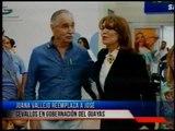 Juana Vallejo remplaza a José Francisco Cevallos en Gobernación del Guayas