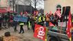 Journée de grève à Châteaubriant mardi 5 février 2019