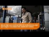 Ronny Vallejo habría viajado a Colombia por orden de Correa - Teleamazonas