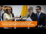 Consejeros del CNE presentaron su defensa en audiencia pública - Teleamazonas