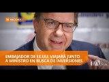 Embajador de EEUU en Ecuador recorre la Amazonía de Ecuador - Teleamazonas